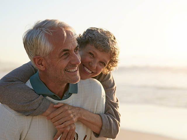 happy senior couple eye care in sarasota florida