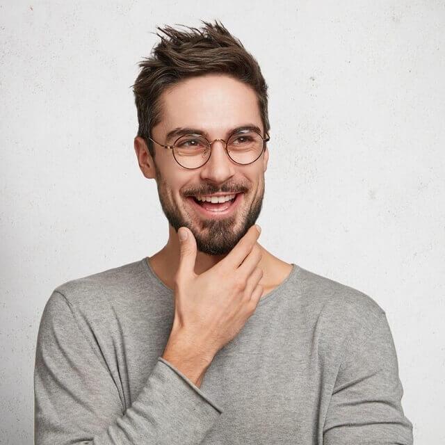 happy man wearing eyeglasses 640×640 1