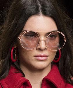 Model wearing fendi sunglasses