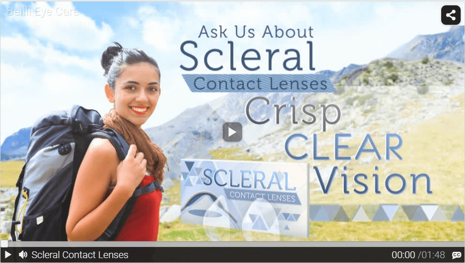 Scleral Contact Lenses