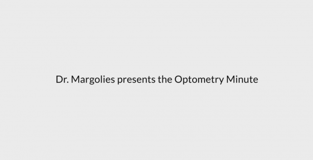 Optometry minute