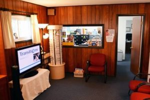 Inside our Levittown eye care clinic