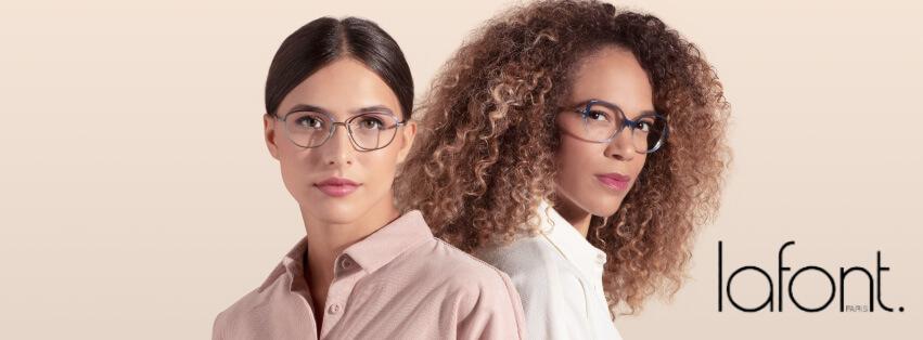 Women Wearing LaFont Eyeglasses Frames