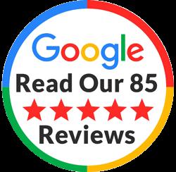 Reviews Badge 85