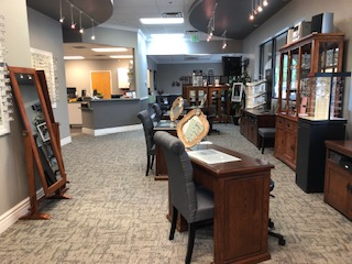 Our remodeled eye care clinic