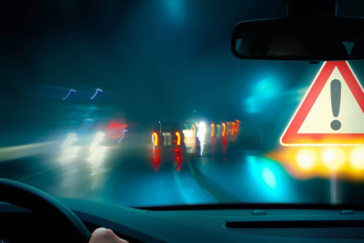 blurry night driving 1280×853
