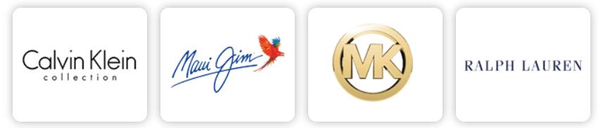 designer frame logos