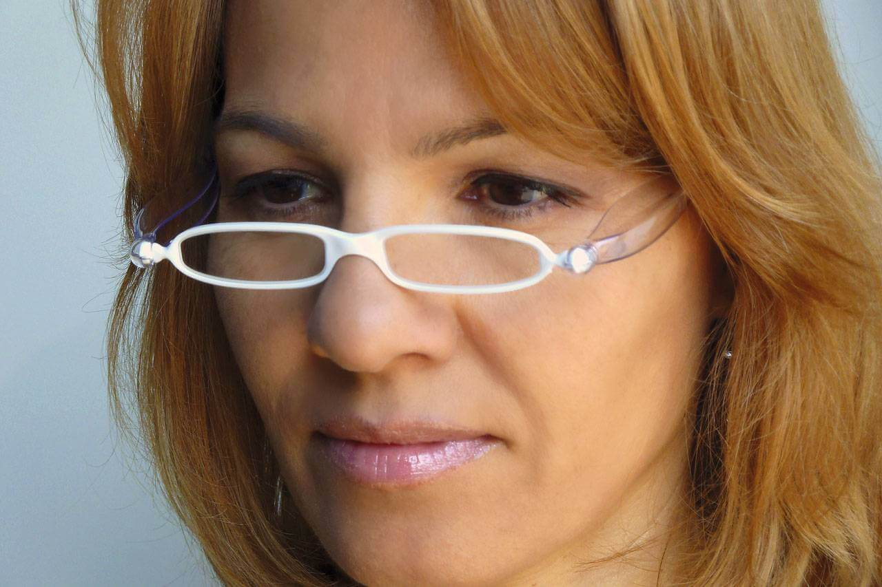 glasses reading american woman 1280×853