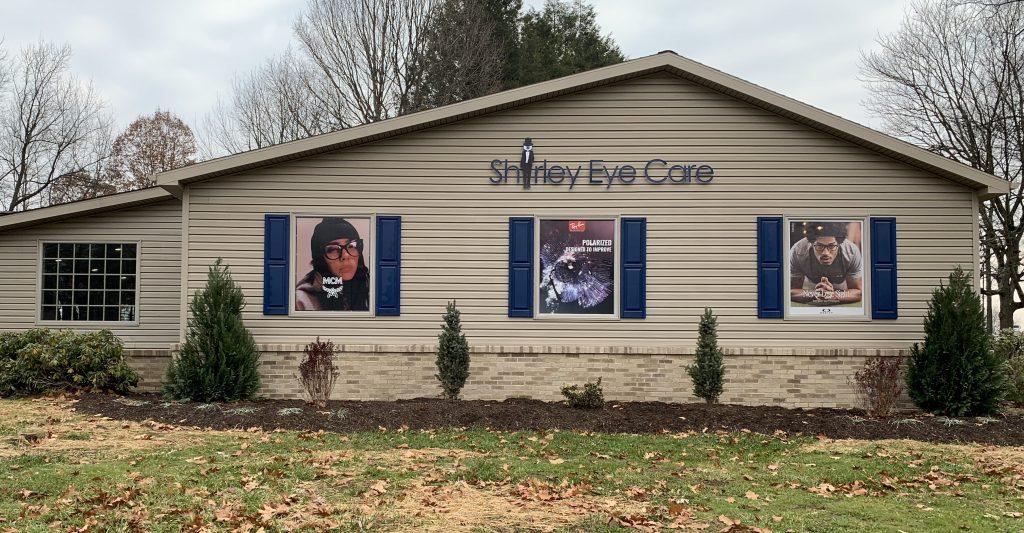 Outside of Shirley Eye Care