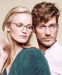 Model wearing Calvin Klein sunglasses