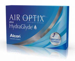 AIR OPTIX plus HydraGlyde 6pk GIANT 300x247