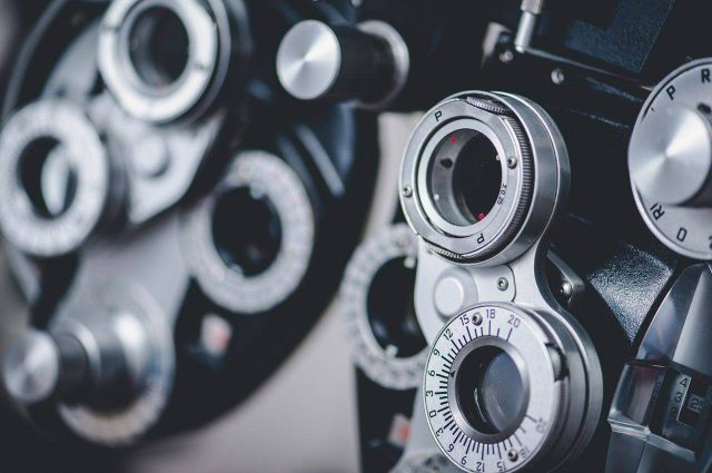 Optometer for eye exams in Florence, SC