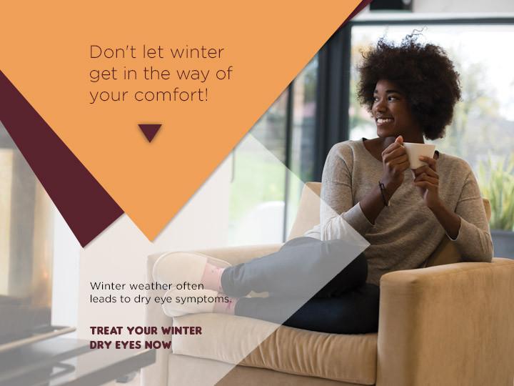 EyeCarePro Winter Dry Eye Campaign GMB