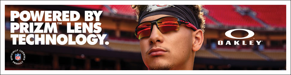 Oakley sunglasses - powered by PRIZM lens technology