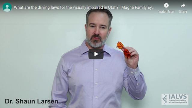 Screenshot 2019 11 07 What are the driving laws for the visually impaired in Utah Magna Family Eye Care YouTube
