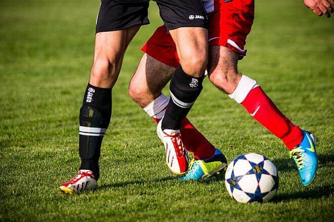 athletes playing soccer - sports vision therapy in Colorado