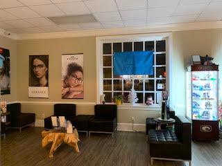 Our waiting area in Roanoke, VA