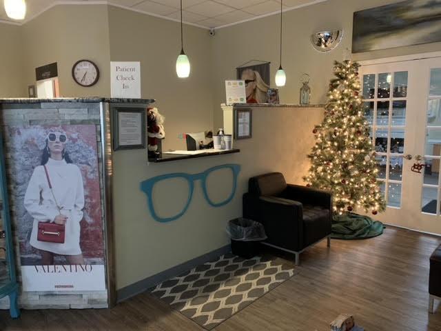 Our Front Desk / Reception Area in Roanoke, Virginia