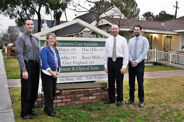Eye doctors in front of our office in Paso Robles, CA