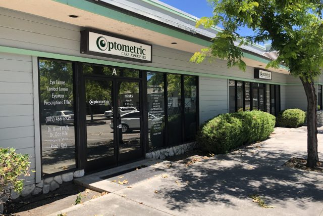 Optometrist, our office in Atascadero, CA