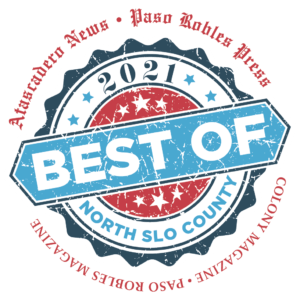 Best of 2020 Logo Color Red Words