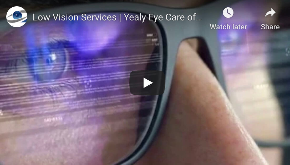 low vision video
