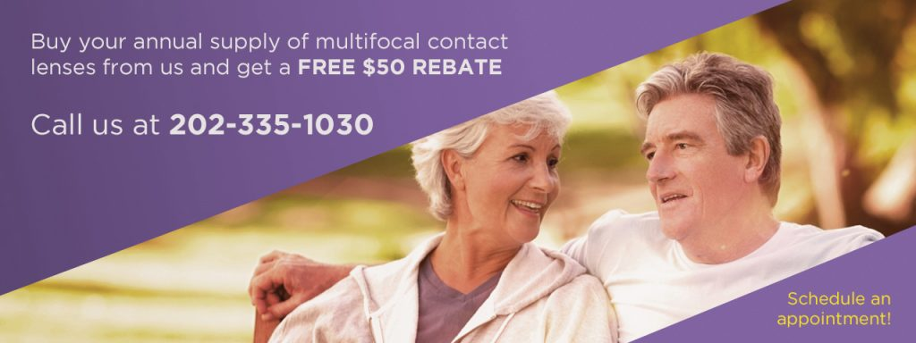 Multifocal Contacts Couple Slideshow 1