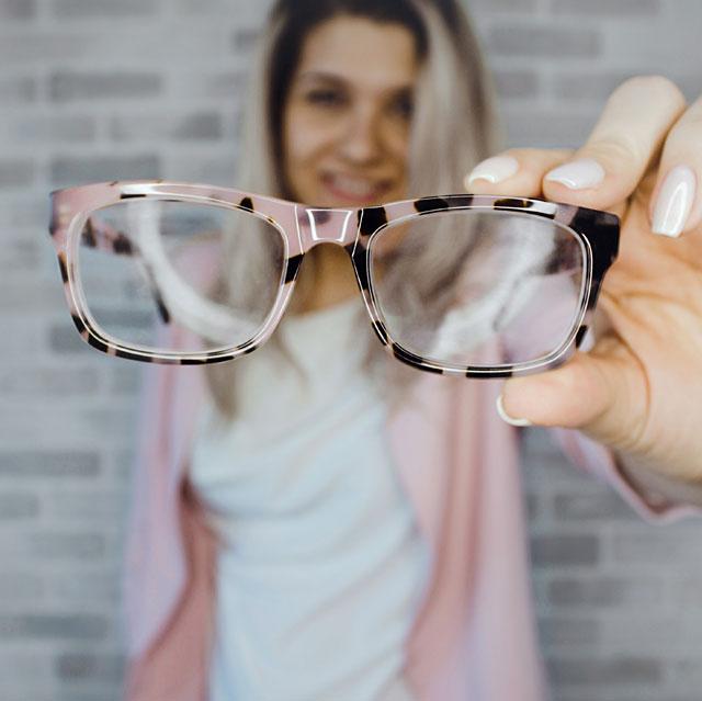 glasses person focus