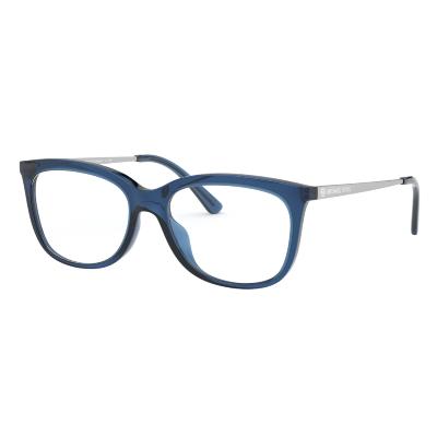 pair of michael kors blue eyeglasses