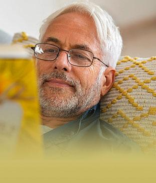 CARDS CROP 1off Aging Eyes Book Reader