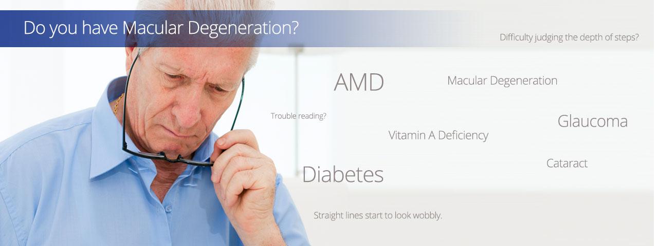 Advertisement for Macular Degeneration Treatment
