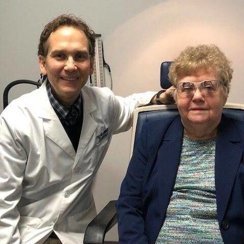 dr pino with patient