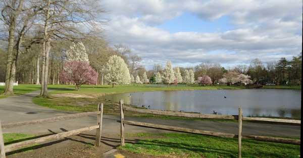 Lake near Union County College Cranford NJ
