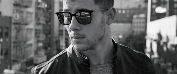 Young Man Wearing John Varvatos Designer Eyeglass Frames
