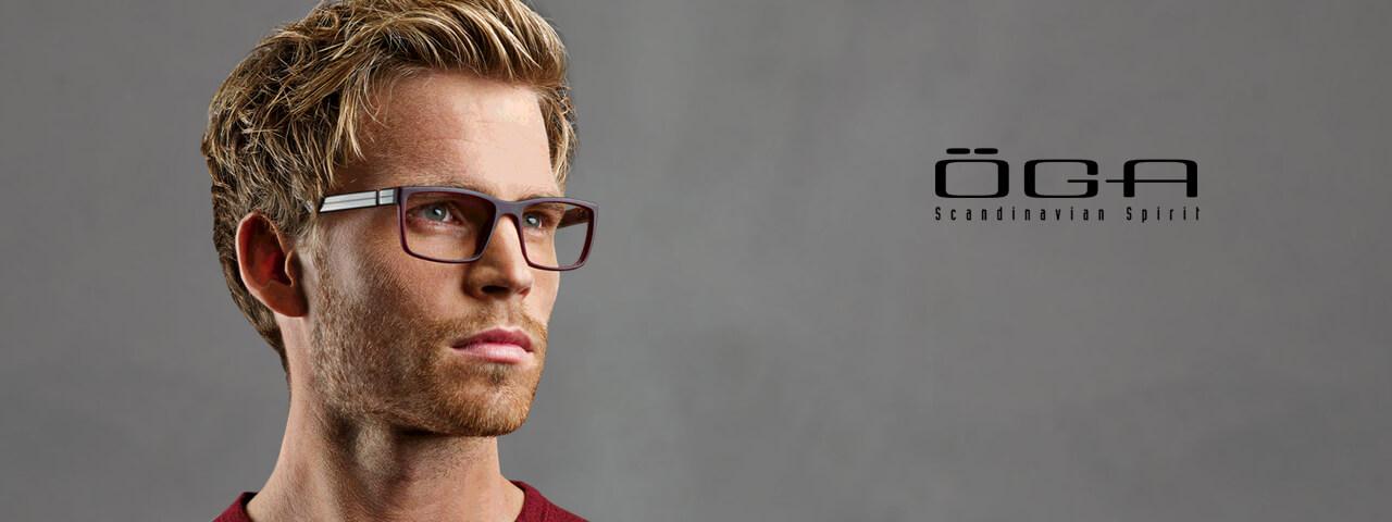 Family Wearing OGA Designer Eyeglass Frames