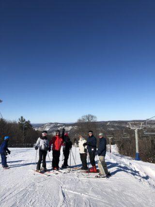 Our eye care staff on a ski trip!