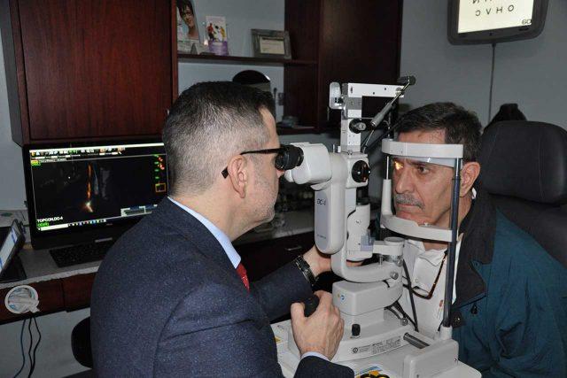 Eye care, eye exam for keratoconus in Houston, TX