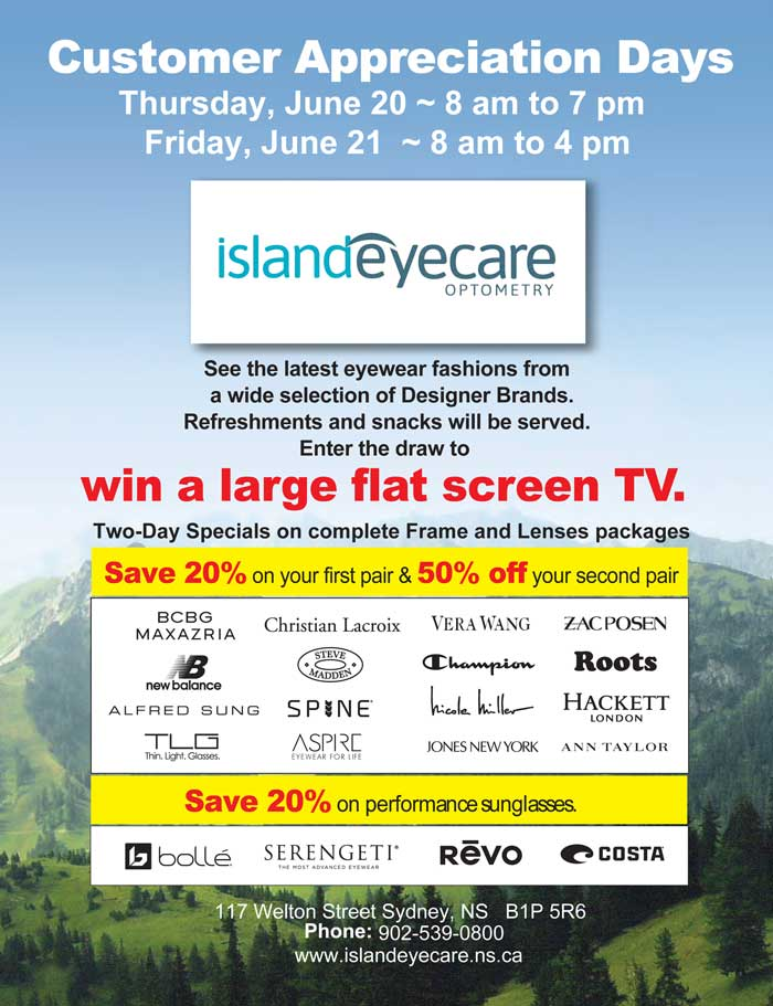 Island Eyecare CDay graphic