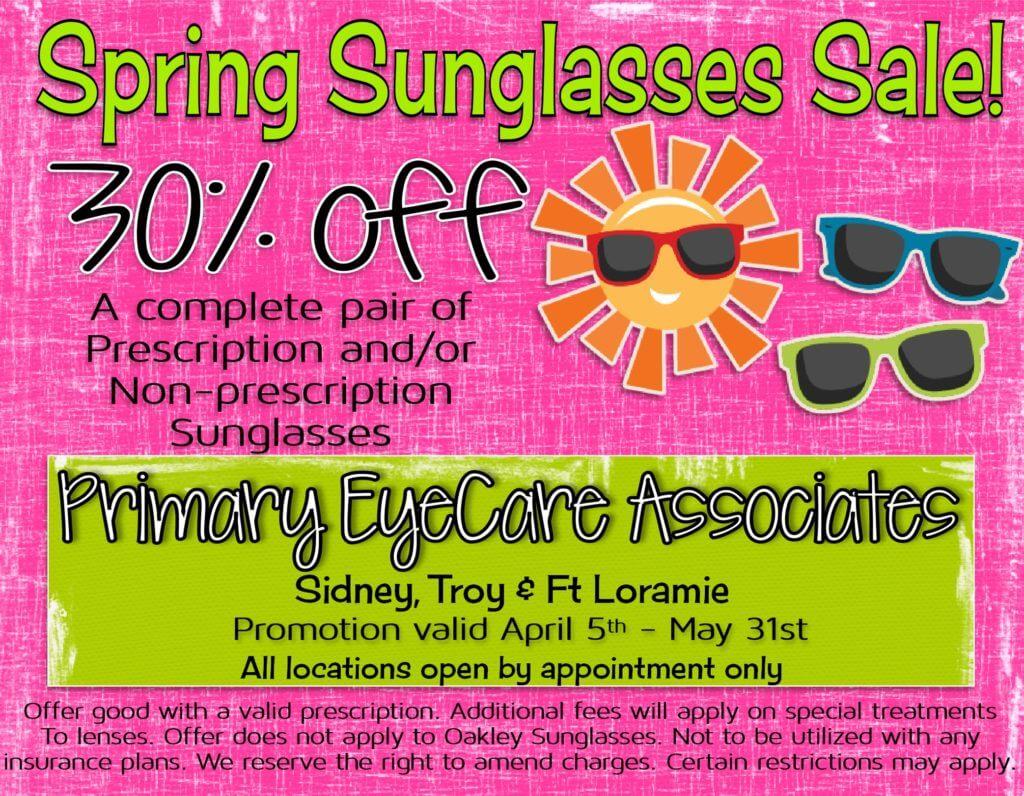 spring sunglasses sale 2021