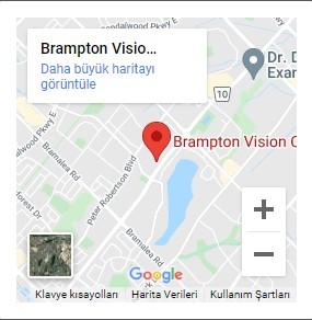 Brampton Vision Location Map