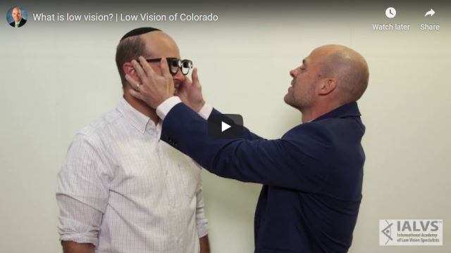 What-is-low-vision-Low-Vision-of-Colorado-YouTube