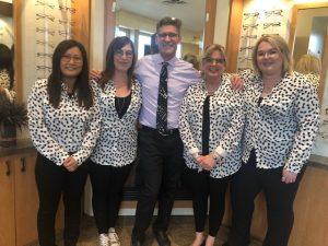 orillia staff dream team at Orillia Eyewear & iCare