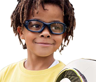 Eye Care, Kid wearing sport glasses in Fort Collins, CO