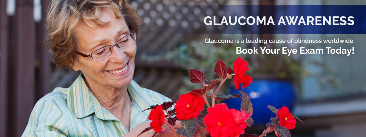 Older woman with glasses at Modern Eye Care   Glaucoma: Detection and Prevention