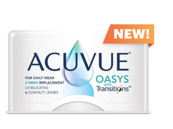 ACUVUE® OASYS with Transitions