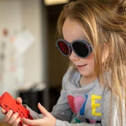 Vision Therapy girl with glasses  2020 ecp owns from client shoot 500px
