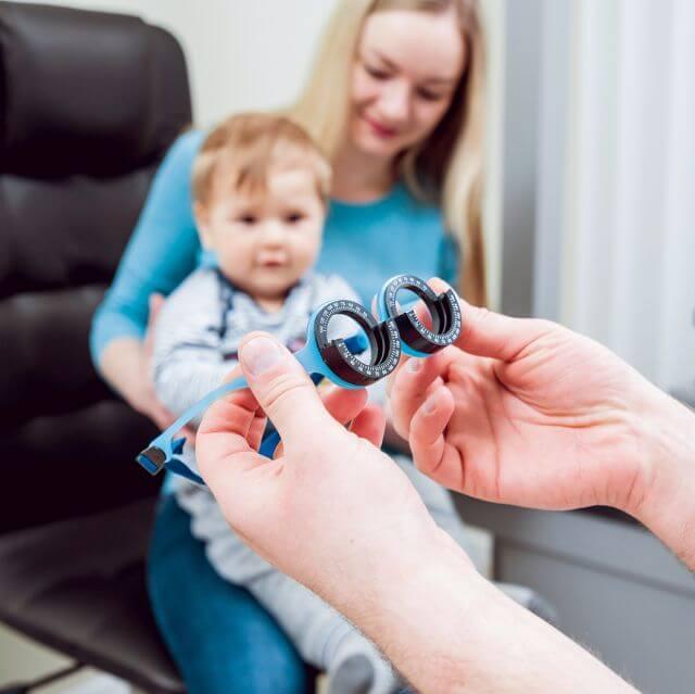 eye care, children's eye xam