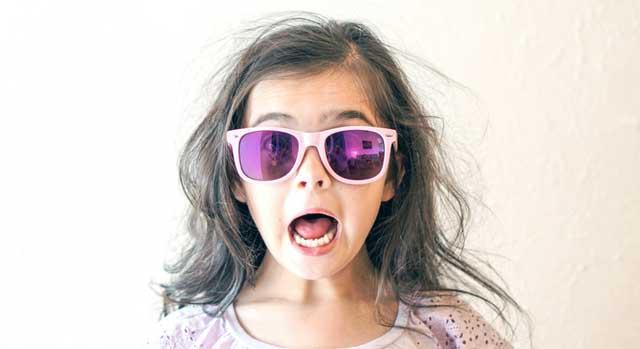 pediatric eye protection outdoors