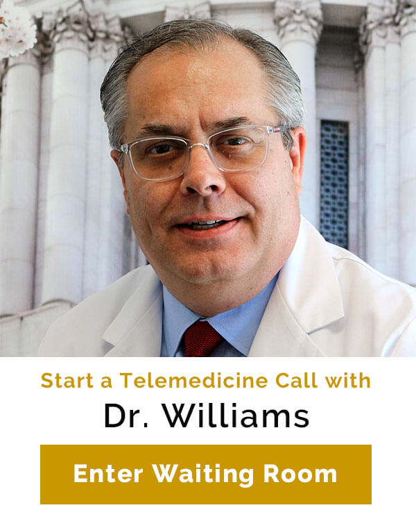 Telemedicine with Dr. Williams
