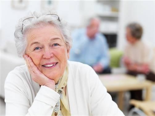 diabetic senior woman smiling in Brampton Ontario